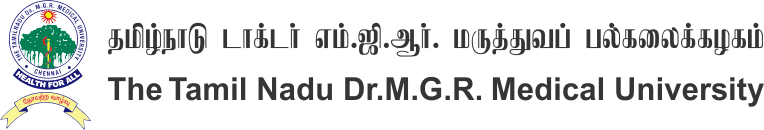 Home - The Tamilnadu Dr M G R  Medical University